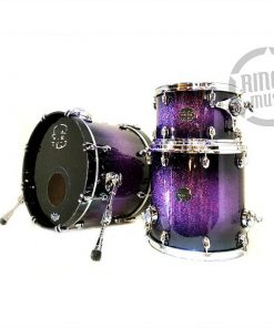 Mapex Saturn V 18 Red Blue Hybrid Sparkle SV481XPH Drum Drums Batteria