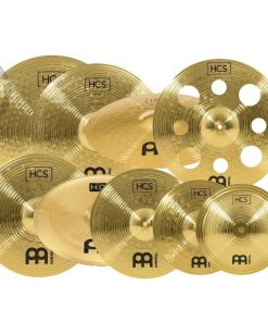 Meinl Set Piatti Piatto Cymbal Cymbals HCS-SCS1 10 Pieces Ultimate Bronze