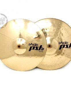 Paiste Pst 8 Rock Hi-hat 14 Cymbal Cymbals Piatti Piatto Drum Drums Batteria
