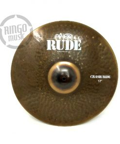 Paiste Rude Crash Ride 17 Cymbal Cymbals Piatti Piatto Drum Drums Batteria