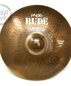 Paiste Rude Power Ride 20 Cymbal Cymbals Piatti Piatto Drum Drums Batteria