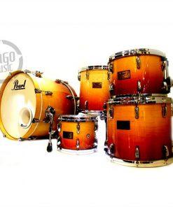 Pearl Masters Custom Maple 20 Sunrise Fade Drum Drums Batteria