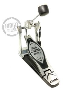Tama Iron Cobra 200 HP200P Double Pedal Bass rum Pedale Doppio Cassa Batteria Usato 1
