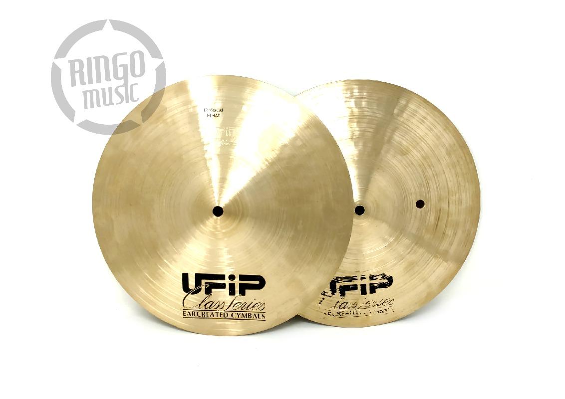 Ufip Class Series Hi-Hat 13 Cymbal Cymbals Piatto Piatti Drum Drums Batteria