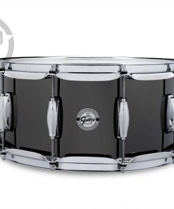 "Gretsch Black Nickel over Steel 14x6,5"" S1-6514A-BNS alluminio snare snaredrum rullante drumsnare"