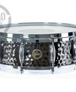 "Gretsch Hammered Black Steel 14x5"" S1-0514-BSH snare snaredrum rullante drumsnare"