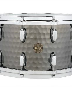 "Gretsch Hammered Black Steel 14x8"" S1-0814-BSH snare snaredrum rullante drumsnare"