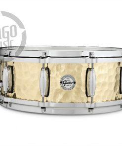 "Gretsch Hammered Brass 14x5"" S1-0514-BRH snare snaredrum rullante drumsnare"