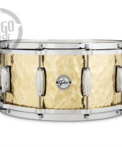 "Gretsch Hammered Brass 14x6.5"" S1-6514-BRH snare snaredrum rullante drumsnare"