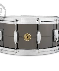 "Gretsch Solid Steel 14x6.5"" G4164SS Made in Usa snare snaredrum rullante drumsnare"