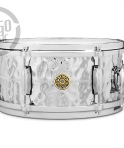 "Gretsch Usa Custom Hammered Chrome Over Brass COB 13x6"" G4168HB snare snaredrum rullante drum drums drumsnare ottone"
