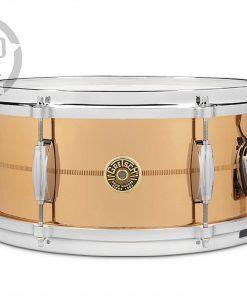 "Gretsch Usa Custom Solid Phosphor Bronze 13x6"" G4168PB snare snaredrum rullante drum drums drumsnare alluminio"