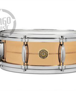 "Gretsch Usa Custom Solid Phosphor Bronze 14x5"" G4160PB snare snaredrum rullante drum drums drumsnare alluminio"