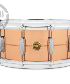 "Gretsch Usa Custom Solid Phosphor Bronze 14x6.5"" G4164PB snare snaredrum rullante drum drums drumsnare alluminio"
