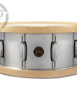 """Gretsch Wood Hoop Alumimum 14x6.5"""" S1-6514A-WH snare snaredrum rullante drumsnare"""