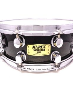 Mapex Saturn Pro Maple Walnut 14x5,5 Transparent Black TBK Drum Drums Snare Snaredrum Drumsnare Rullante