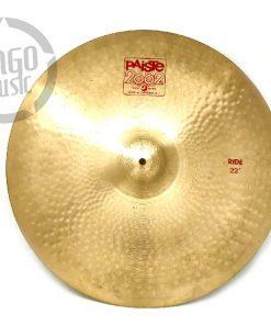Paiste 2002 Ride 22 cymbal cymbals piatti piatto drum drums batteria