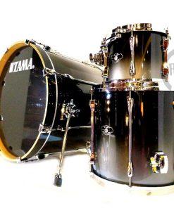 Tama Superstar Custom Birch 22 Titanium Fade Lacquer Drum Drums Drumset Batteria