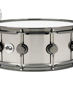"""DW Collector's Black Ti Titanium 14x5.5"""" snaredrum snare drum drums batteria rullante"""
