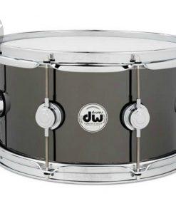 DW Collector's Series Black nickel Over Brass 13x7 Snaredrum Drums Drum Rullante Batteria