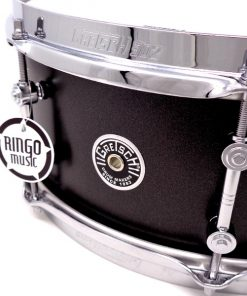 Gretsch Brooklyn Standard 14x55 Satin Black Metallic Snare Drum Drums Batteria Rullante
