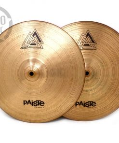 Paiste 802 Hi-hat 14 Cymbal Cymbals Piatto Piatti Drum Drums battteria
