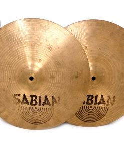 Sabian B8 Hi-Hat 14 Charleston Charlie Cymbal Cymbals Piato Piati Drum Drums Batteria