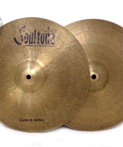 Soultone Custom Series Hi-Hat 14_ Cymbal Cymbals Piatto Piatti Bateria Drum Drums