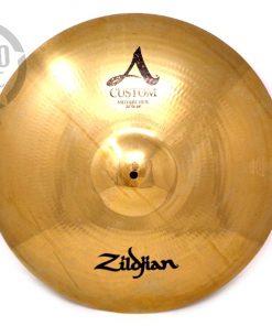 Zildjian A Custom Medium Ride 20 Cymbal Cymbals Piatto Piatti Drum Drums Batteria