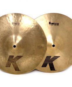 Zildjian K Hi-Hat 13 Charlie Charleston Cymbal Cymbals Piatto Piatti Drum Drums Batteria