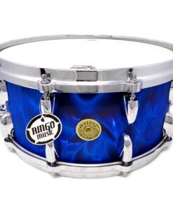 Gretsch Broadkaster Usa 14x6.5 Peacock Satin Flame Drum Drums Drumsnare Snaredrum Snare Rullante