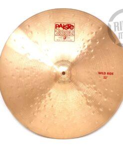 Paiste 2002 Wild Ride 22 Cymbal Cymbals Piatto Piatti