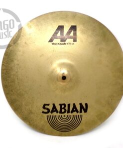 Sabian AA Thin Crash 16 Drum Drums Cymbal Cymbals Piatto Piatti Batteria