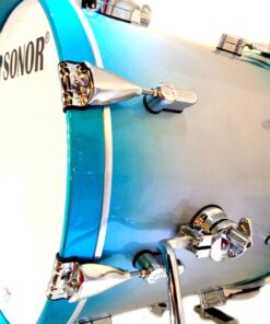 Sonor AQ2 Safari Set 16 Aqua Silver Burst Maple Acero Drum Drums Drumkit Drumset Batteria