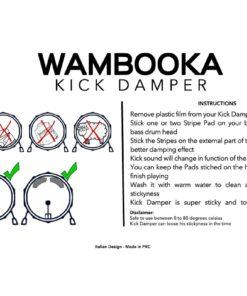 Wambooka Kick Damper Drum Gel Sordina Damper