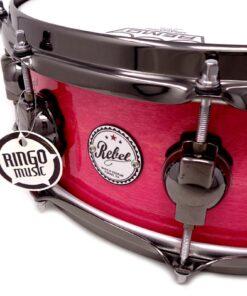 "DrumSound DS Rebel All Birch 14x5"" Fucsia Lacquer Snare Drumsnare Snaredrum Rullante"