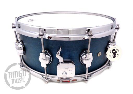 "DrumSound DS Rebel All Birch 14x6"" Azure WBS Snare Drumsnare Snaredrum Rullante"