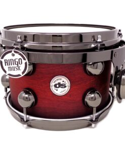 DrumSound DS Rebel All Birch 22_ Chilli Red Burst SS 4pz Drums Drumset Batteria