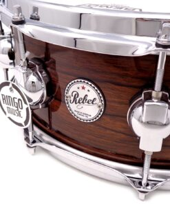 "DrumSound DS Rebel All Mahogany 14x5.5"" Exotic Green Snare Drumsnare Snaredrum Rullante"