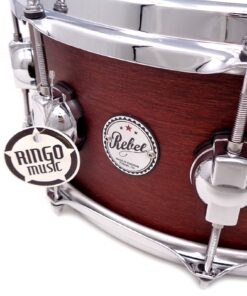 "DrumSound DS Rebel Birch/Mahogany 14x6"" Burgundy WBS snare Drumsnare Snaredrum Rullante"