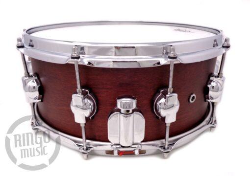 "DrumSound DS Rebel Birch/Mahogany 14x6"" Burgundy WBS snare Drumsnare Snaredrum Rullante"