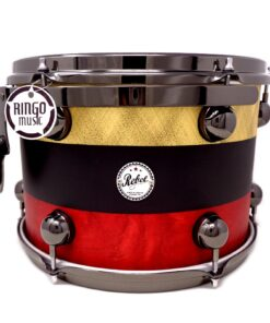 DrumSound DS Rebel Birch_Mahogany 24_ Gold_Black_Red 4pz Drums Drumset Batteria