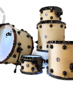 DrumSound DS Rebel Maple Koto 22 Natural Drums Drumset Batteria