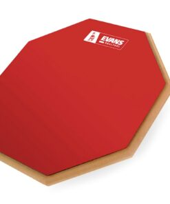 "Evans RealFeel Red 12"" Limited Edition RF12G-RED pad practice pad allenamento"