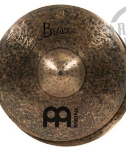 "Meinl Byzance Dark Hi-hat 15"" B15DAH Cymbals Cymbal Piatto Piatti"