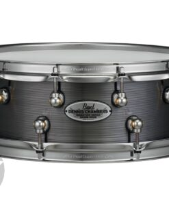 """Pearl Signature Dennis Chambers 14x5"""" Cast Aluminum DC1450S/N Snare Drumsnare"""