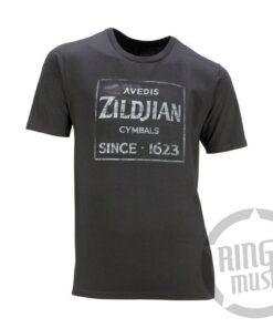 Zildjian Avedis Vintage T Shirt Maglia Maglietta Drum Drums Cymbal Cymbals