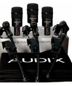 audix D2 Trio microfoni batteria set microfoni microphones drums drumset