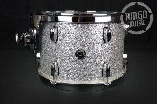 "Gretsch Brooklyn 24"" Silver Sparkle 3pz GB-R443 USA Drum Drums Drumset Batteria"