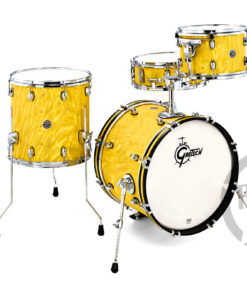 """Gretsch Catalina Club 18"""" CT1-J484 Yellow Satin Flame Limited Edition Drum Drums Batteria"""